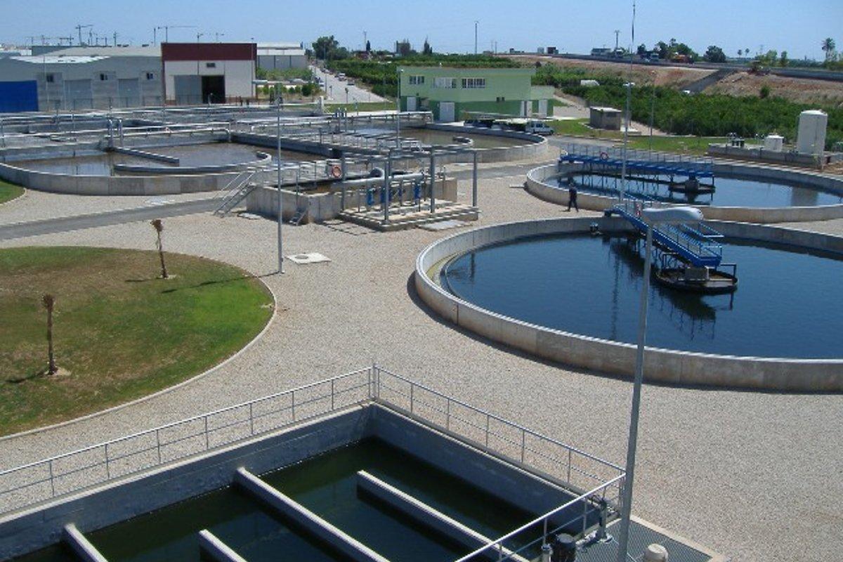 Estaci n depuradora de aguas residuales y colectores - Depuradoras de agua domesticas ...